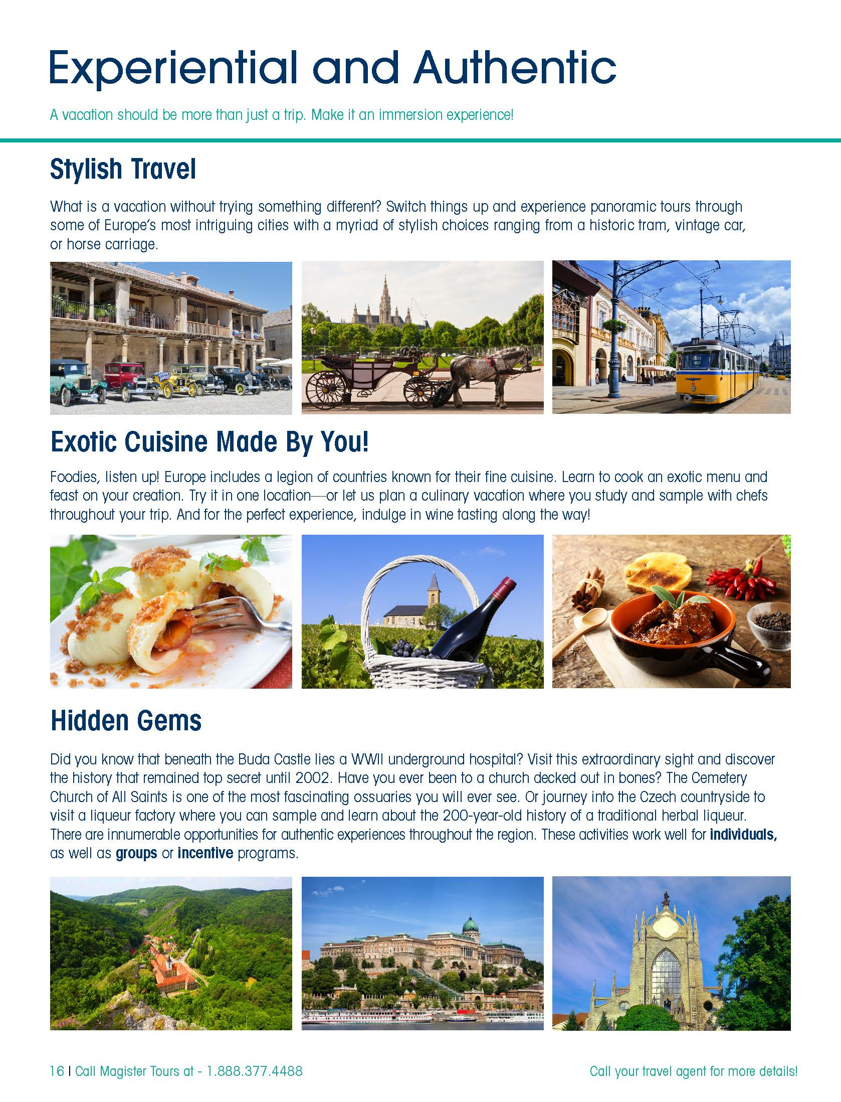 Central Europe & Beyond Brochure - Magister Tours-Tours